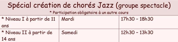 Special chore jazz
