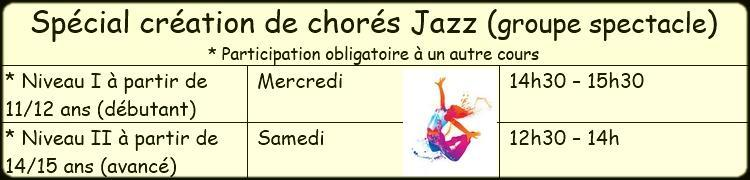 Horaire special chore 3