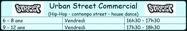 Horaire urban street 3