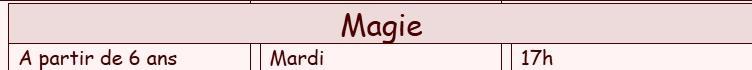 Magie 1
